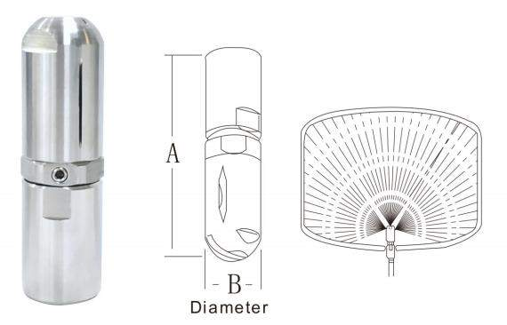 buse compacte de lavage de réservoir 19250