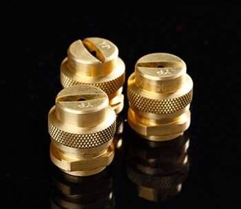 Brass Flat fan nozzle