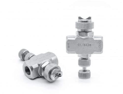 Adjustable Air Atomizing Spray Nozzle