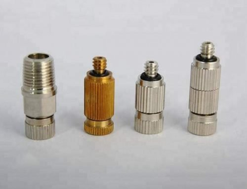Anti-Drip Brass Mist Spray Nozzle