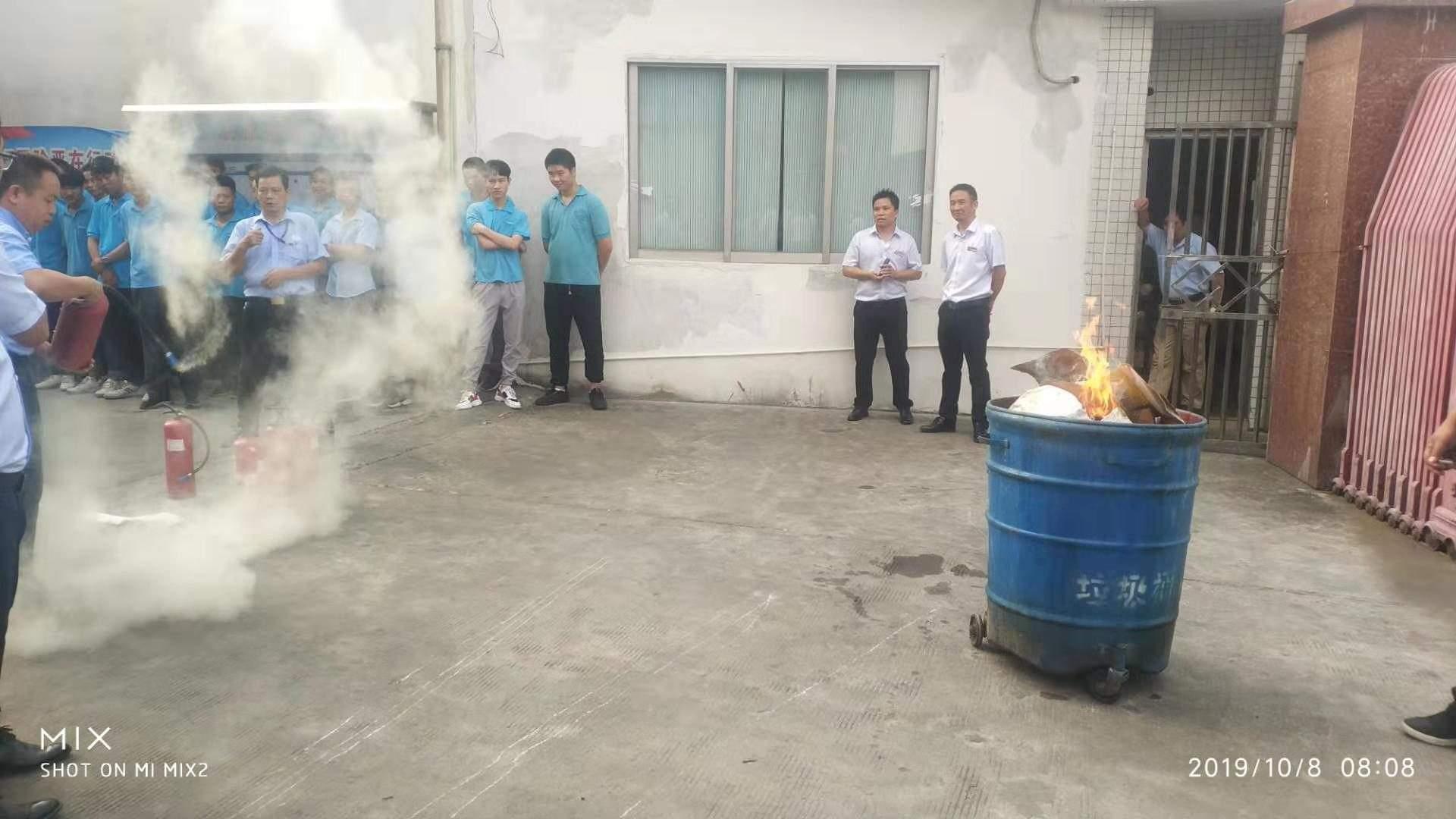 CYCO's Fire Drill
