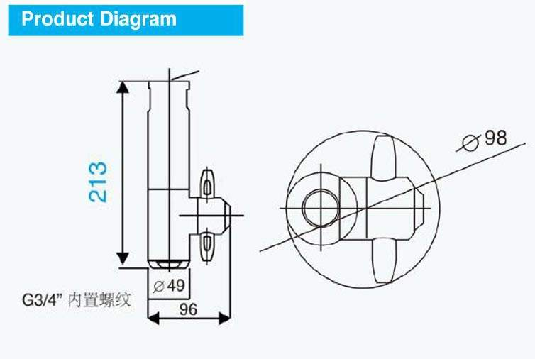 performance curve data of rotary tank washing nozzle