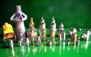 Tipos de boquilla de pulverización industrial