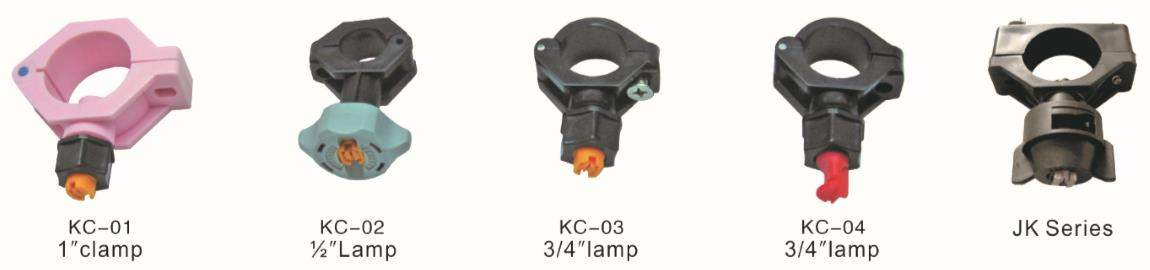 j series plastic clamp nozzle