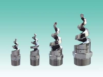 spiral spray nozzles for desulfurization tower