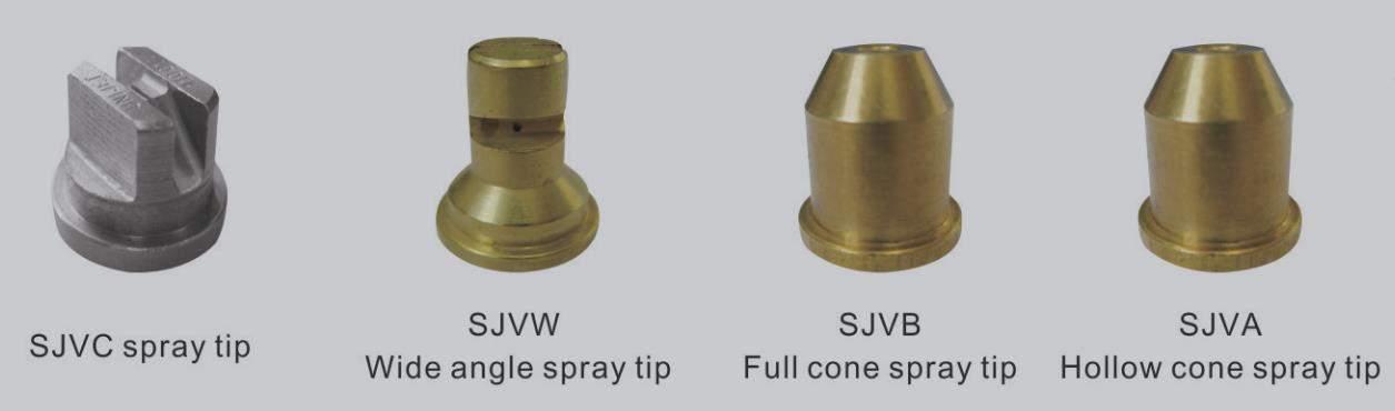 SIV Three-piece full cone flat fan spray nozzle