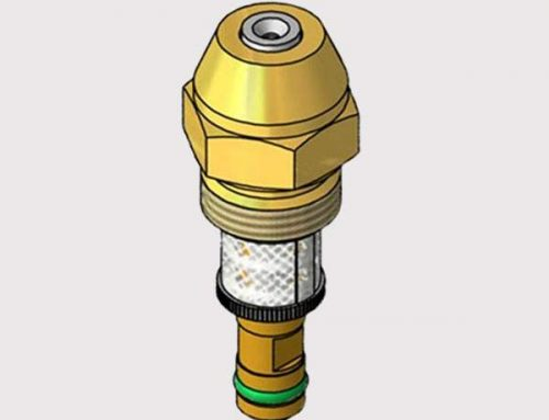 Oil Back Flow Return Nozzle
