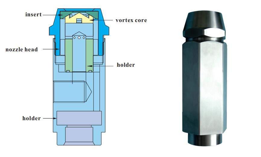 Diagram of cyco asphalt nozzle