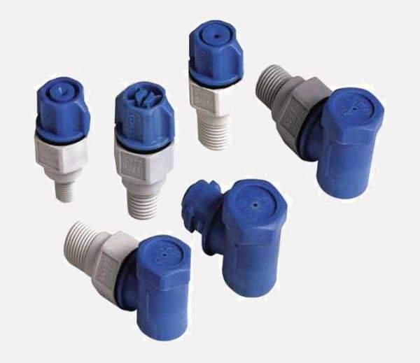 qjj plastic dismantling spray nozzle