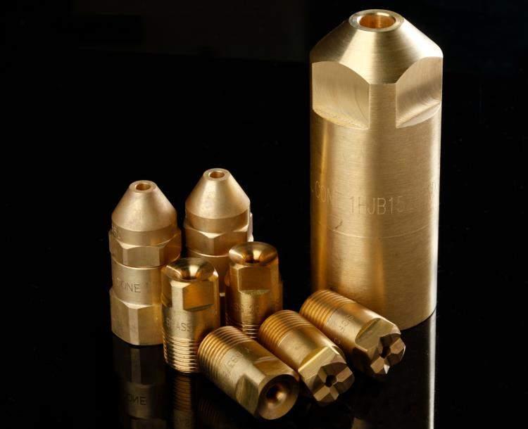 brass full cone spray nozle