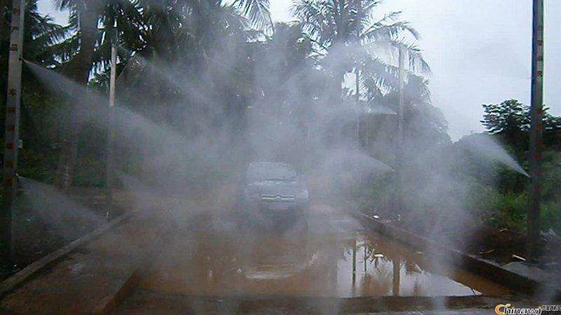disinfection sterilization mist nozzle application