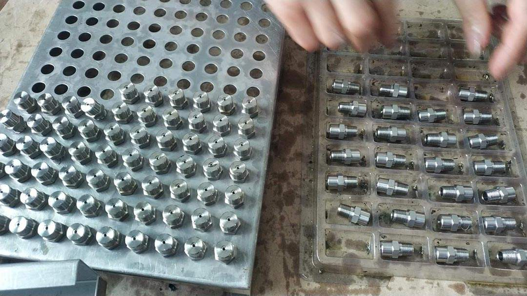 CYCO Spray Nozzle Production in the Process 3